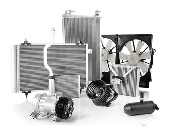 Aircondition parts with fixing (All type cars)
