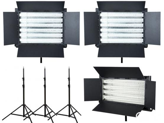 Flo light video lighting kit for rental (( fluorescent light similar to Kino flo))