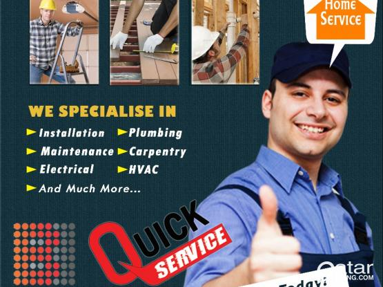 House/Villa,  Plumbing, AC, Electrical, Civil, & Painting & EXCLUSIVE RO SYSTEM