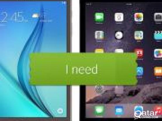 I'm looking to buy ipad or Samsung galaxy tab