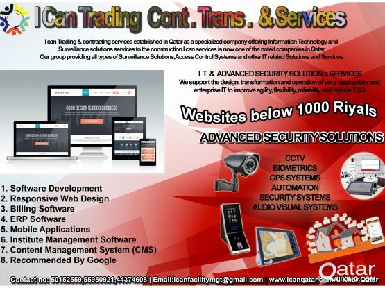 Information technology & Surveillance system services