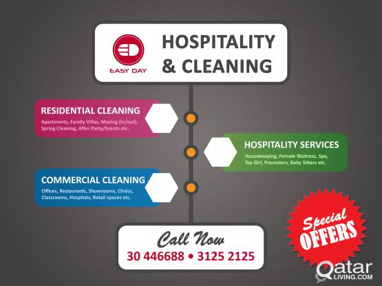 EASYDAY HOSPITALITY  &  CLEANING SERVICES