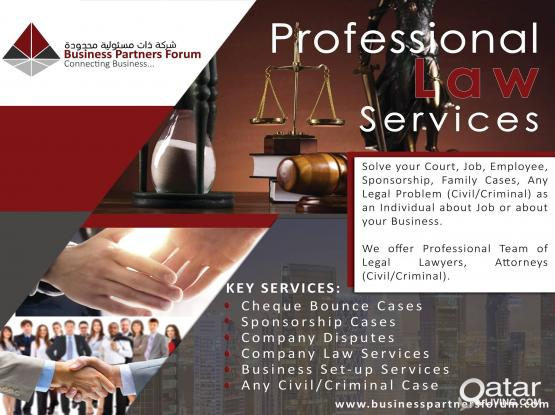 Professional Lawyer Services...