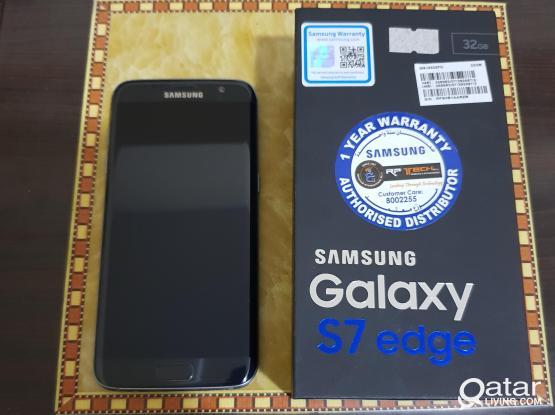 Galaxy s7edg 32gb midnight black color