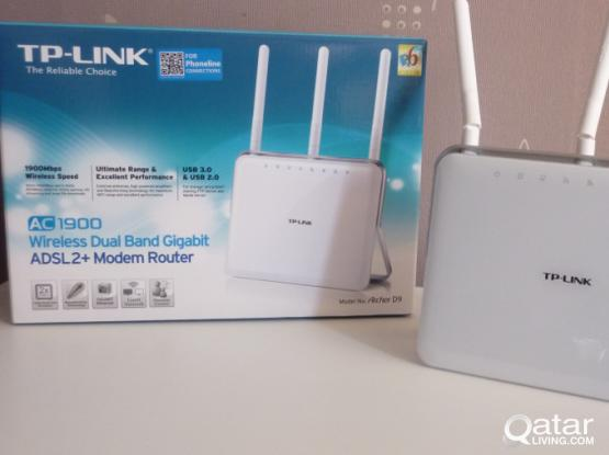 Tplink ac1900 Smart gaming wifi router