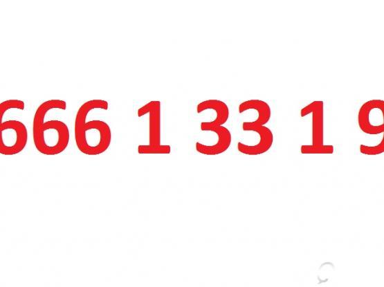 666 1 33 1 9- OOREDOO