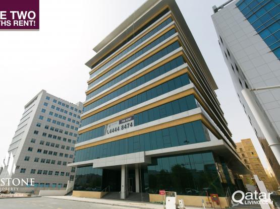 FREE 2 MONTHS!! Brand New Showrooms, Mezzanine Floor, near Hamad Hospital'