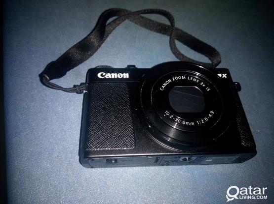Canon PowerShoot G9X Mark II