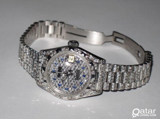 Rolex Diamond Ladies Watch