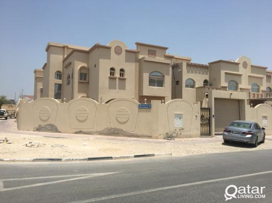 Spacious neat and clean STUDIO outhouse villa apartments available at abuhamour close to Salwa Road