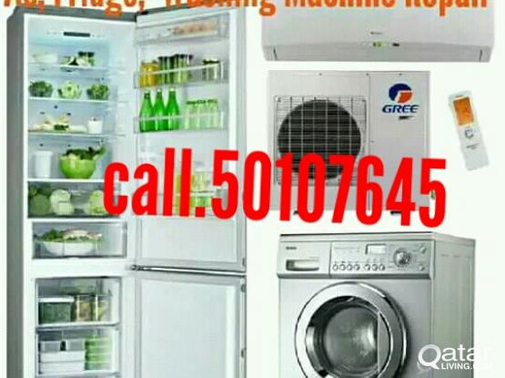 A/C fridge washing machine service repear