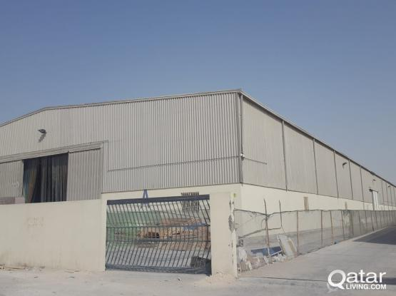 For rent warehouse in Industrial Are, 4,500 square meter