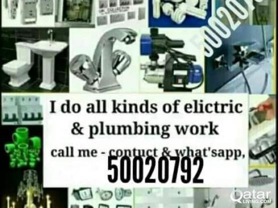 Electrical, plumber all,maintenance work 50020792