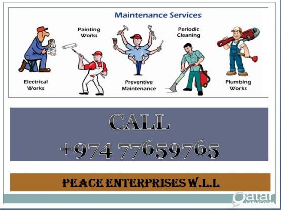 ELECTRICIAN/PLUMBERS/GYPSUM PARTITION/PAINTERS