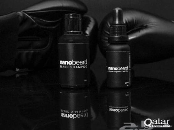 Nano beard oil + shampoo