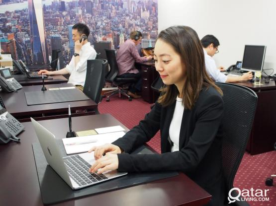 Fully Furnished Luxurious Serviced Offices in West Bay