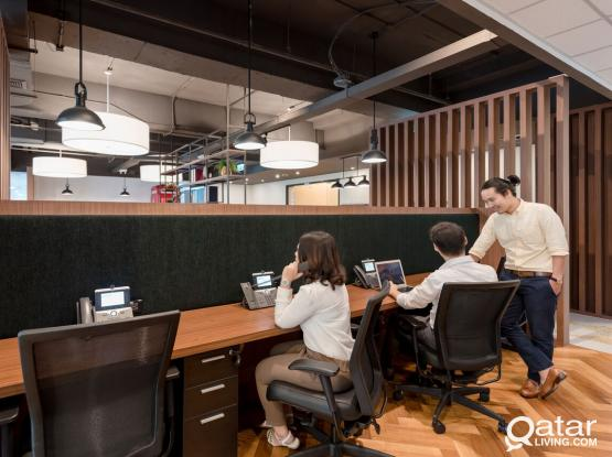 QFC approved coworking spaces