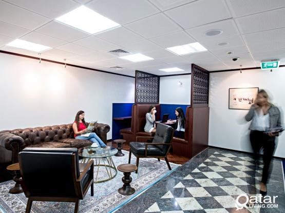 QFC approved dedicated offices