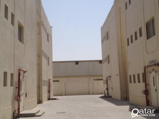48 / 96 rooms for rent, including utilities | Industrial area