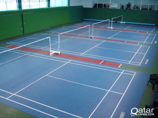 Partners needed to share badminton court