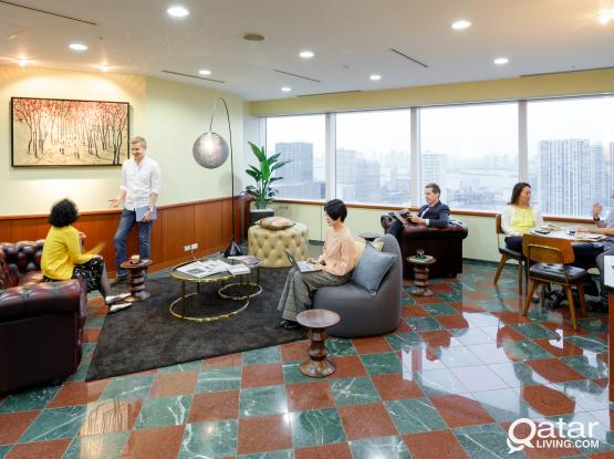 Five Stars office with Amazing View For Rent