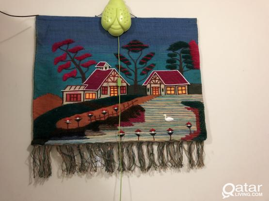 Wall hanging hand made