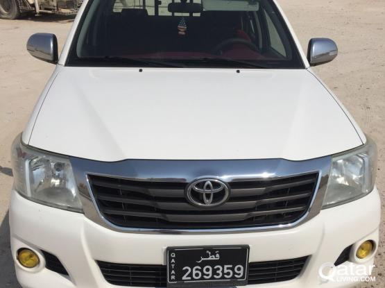 HILUX PICKUP WITH DRIVER FOR RENT
