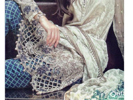 Pakistani Ladies Suits Printed Lawn Front Embroidered