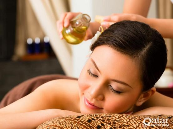 KERALA A AYURVEDIC AFTER DELIVERY MASSAGE MOTHER AND BABY