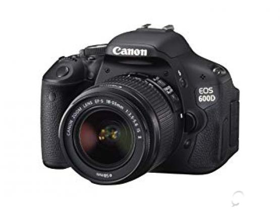Canon 600d with 18_55