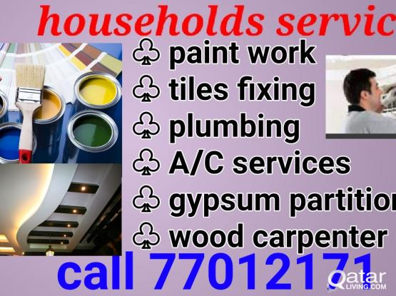 Households maintenance services 77012171
