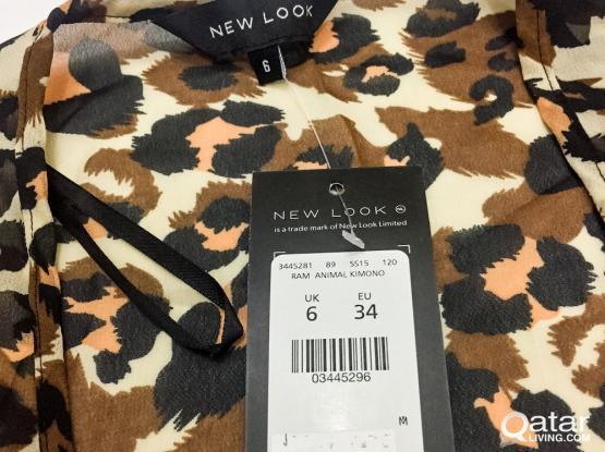 New Look - Animal Print Kimono