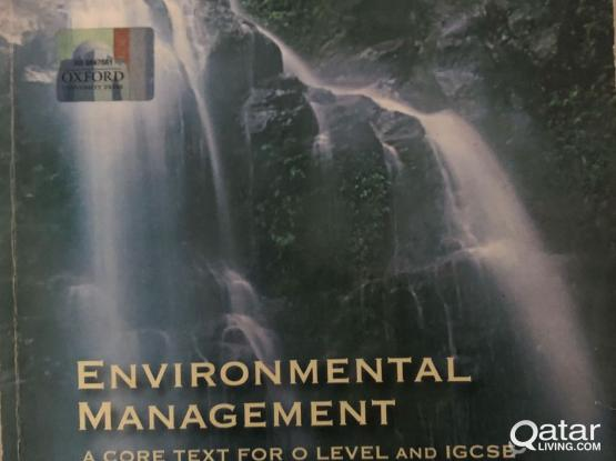 Environmental Management Book
