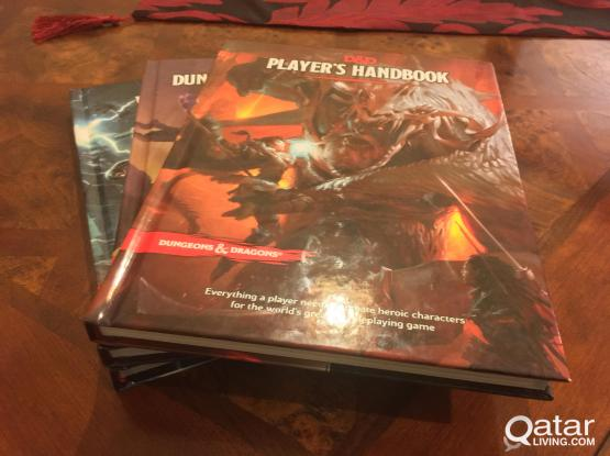 Dungeons & Dragons 3 Core Books (MINT CONDITION)