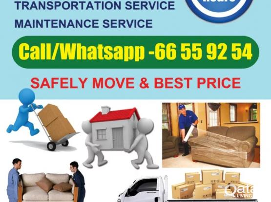low price Call-66559254 Home, villa, office Furniture Moving Fixing, Carpenter, Transport.