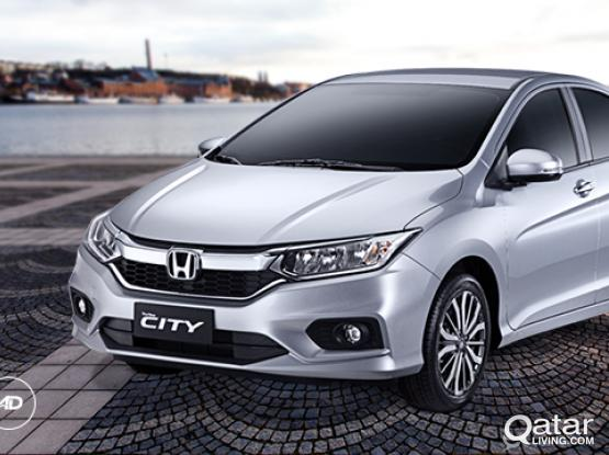 HONDA CITY 2017 MODEL ONLY 1700 QAR FOR MONTHLY AND DAILY 75 PER DAY 50399150