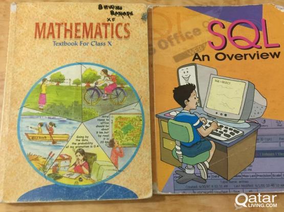 class X cbse books