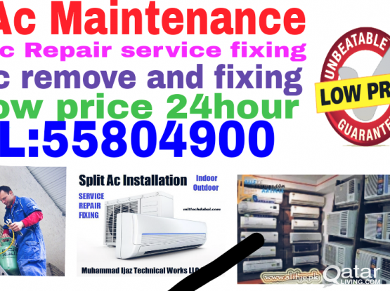 Ac sale buy repair services fixing call:55804900