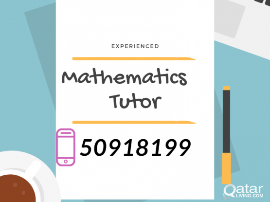 Call Experienced Maths Tutor @ 50918199