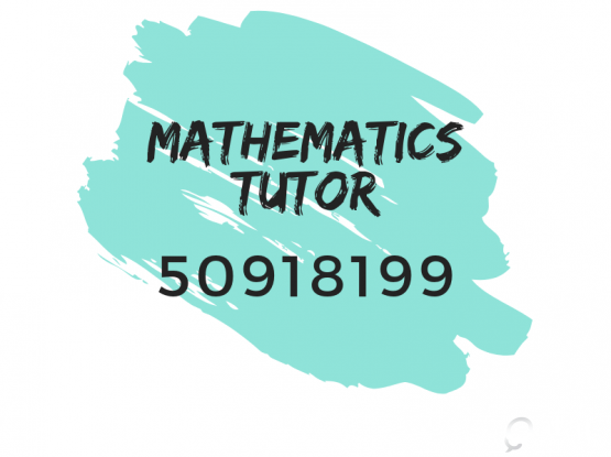 Call Experienced Maths Home Tutor @50918199