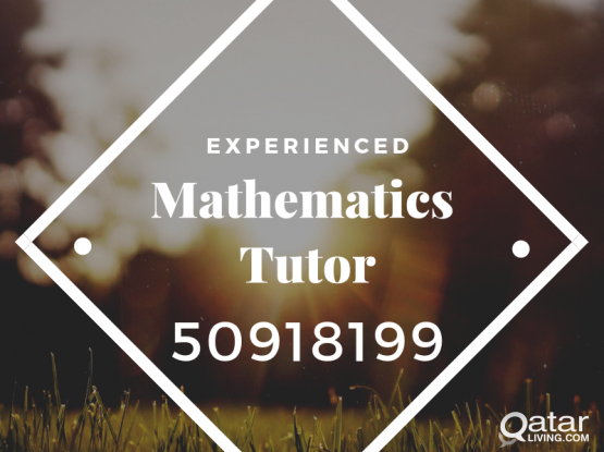 Mathematics Tutor is available @50918199
