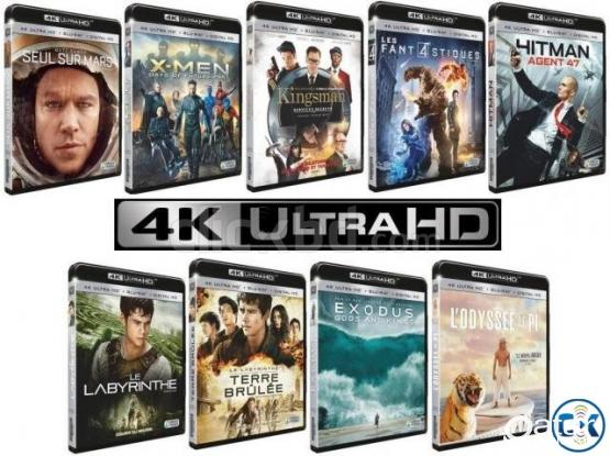 4K UHD/ HDR 10Bit Movies for OLED, 4K & 3D Full HD for very Cheap Price