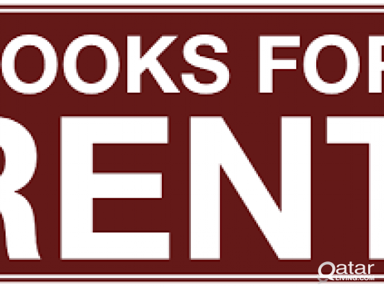 English Novels for Rent