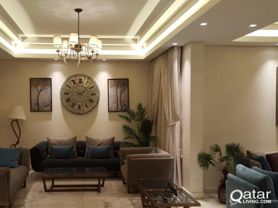 3BHK LUXURY FULLY FURNISHED COMPOUND VILLA IN AL WABB ONE MONTH FREE RENT