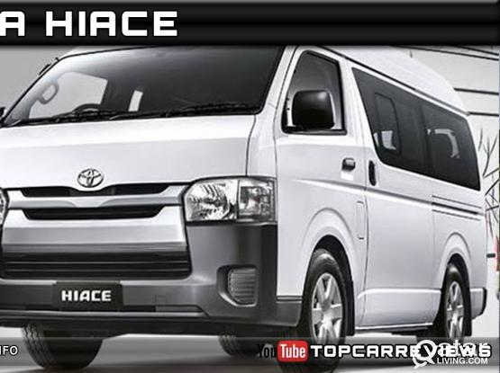Toyota Hiach/Nissan urvan 15 seater bus for rent