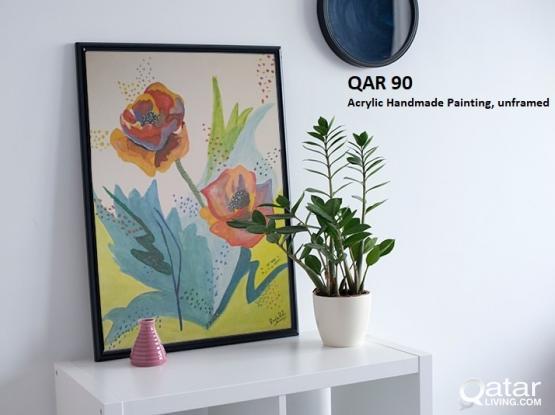 Unique/Elegant Acrylic Paintings