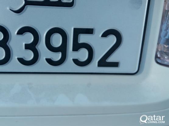5-Digit car plate number   for sale
