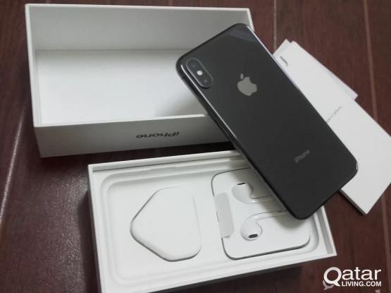 Iphone X Space Gray 256 GB QR 3350
