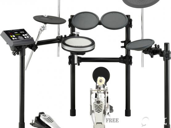 New in (2)Boxes | Yamaha DTX522K Electronic Drum Kit with 3-Zone Textured Silicone Snare Pad | Pickup in Boxes only