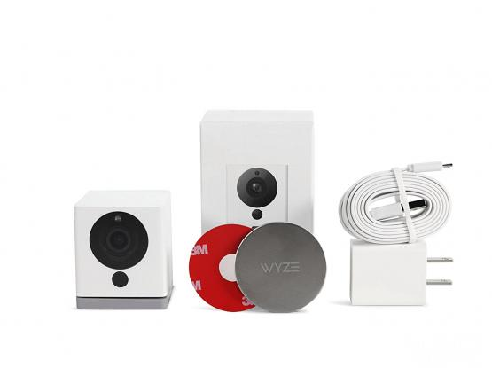 Wyze Cam 1080p HD Indoor Wireless Smart Home Camera / Webcam with Night Vision, 2-Way Audio, Works with Alexa